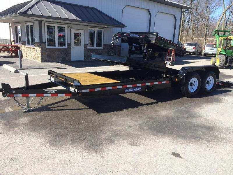 2017 Sure-Trac Tilt Bed Equipment Trailer 7