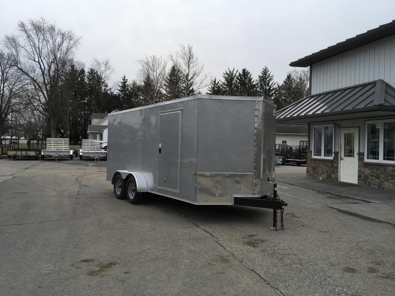 2018 Rock Solid 7x16' Enclosed Cargo Trailer 7000# GVW