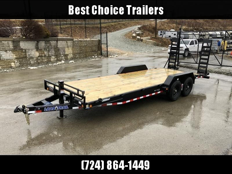 "2020 Load Trail 7x24' Equipment Trailer 14000# GVW * CR8324072-EQ * STAND UP RAMPS * 8"" FRAME UPGRADE * DUAL JACKS * DEXTER'S * 2-3-2 * ZINC PRIMER"