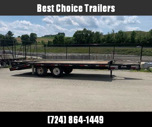 2007 CornPro Trailers Trade In Flatbed Trailer