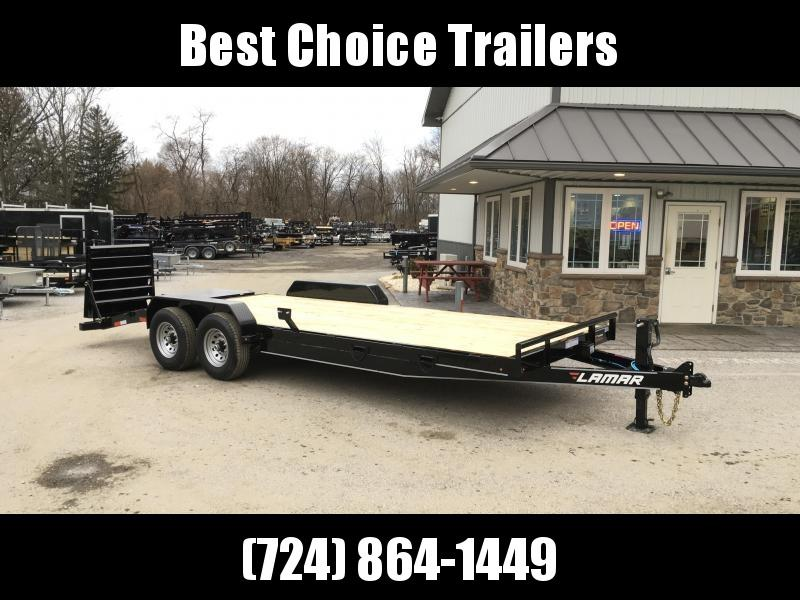 "2018 Lamar 7x20' Equipment Trailer 14000# GVW - FULL WIDTH RAMPS * 16"" OC FLOOR"