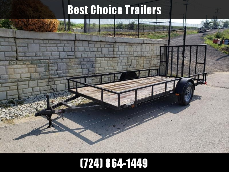 USED 2014 Carry-On 6'X12' Utility Landscape Trailer
