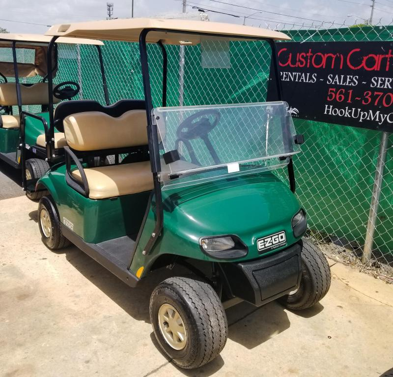 2016 E-Z-GO TXT Golf Cart
