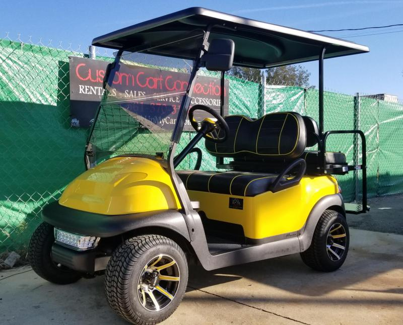 2016 Yellow/Black Club Car Precedent Golf Cart