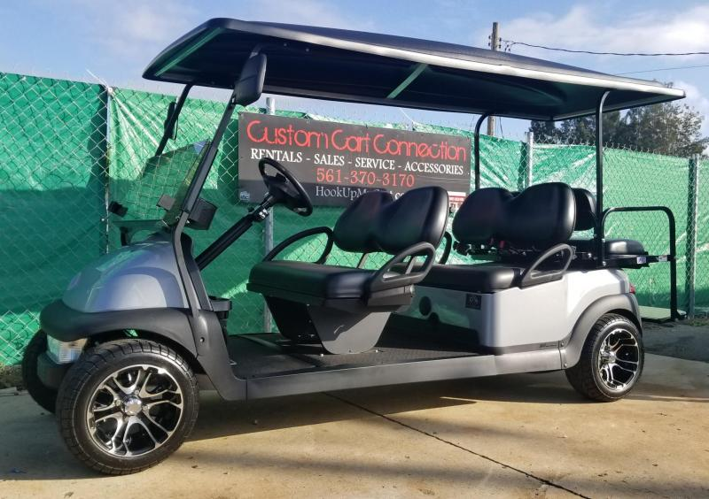 Custom Club Car Precedent Golf Cart Remanufatured In 2018 Using A