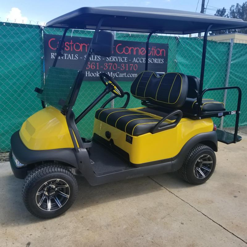 2016 Club Car Precedent Yellow & Black