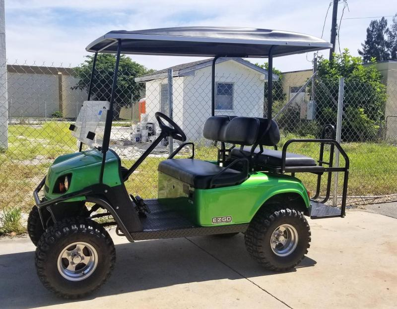 2014 E-Z-GO 48 VOLT HEAVY DUTY EXPRESS GOLF CART
