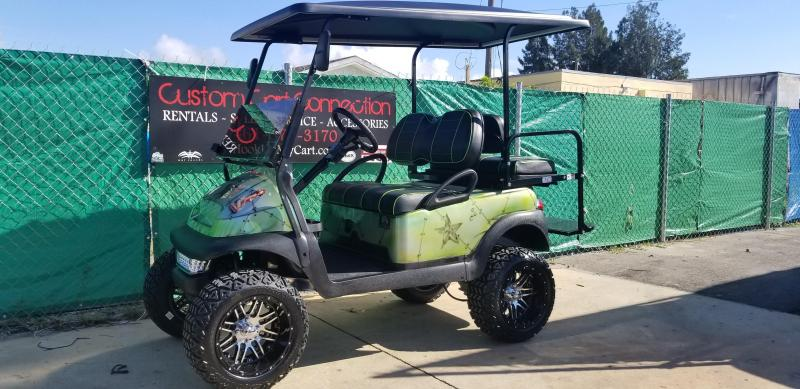 Custom Club Car PRECEDENT Golf Cart Remanufatured in 2018 using a 2016 Club Car Frame **LOTS OF UPGRADES**