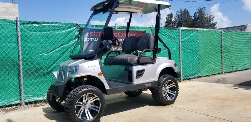 2019 LSV Silver Lifited Tomberlin E-Merge E2 LE Plus w/ Power Steering Golf Cart