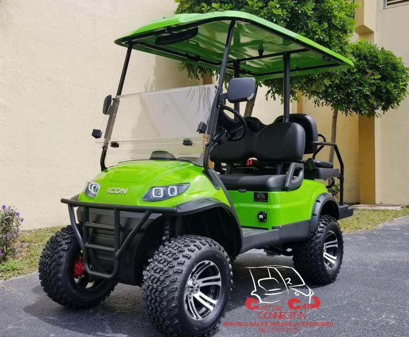 2019 ICON i40L Golf Cart