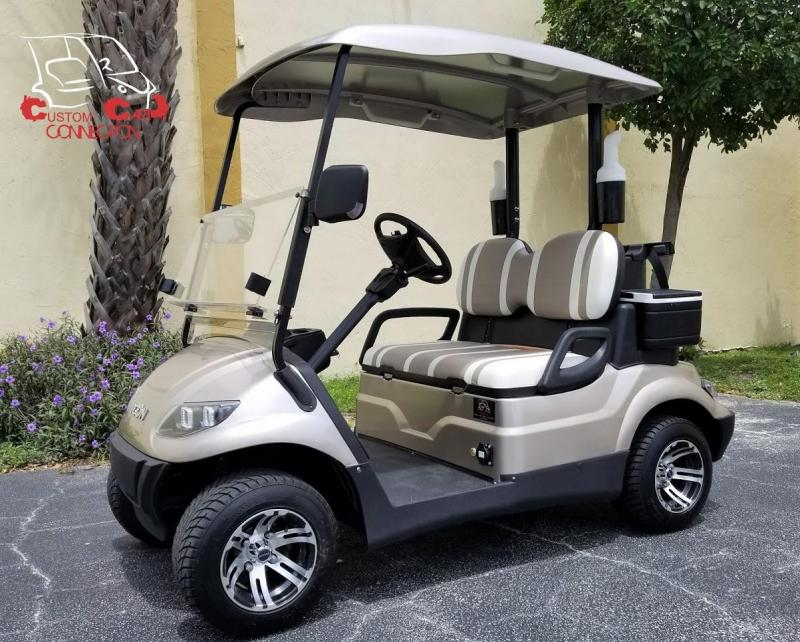 2019 ICON i20 Golf Cart w/Bag Attachment