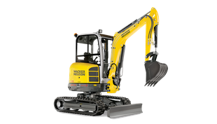 "EZ2.8 Mini Excavator W/12 - 18 or 24"" Bucket"