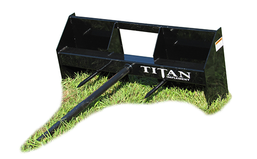 2019 Titan Implement Bale Spear