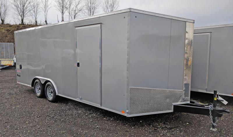 NEW 2020 Cargo Express 8.5 x 22 XLW Sloped V-Nose Car Hauler
