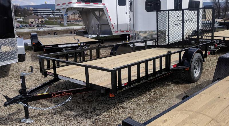 NEW 2018 Quality 6x14 General Duty Utility Trailer w/ATV Side Ramps & Rear Gate