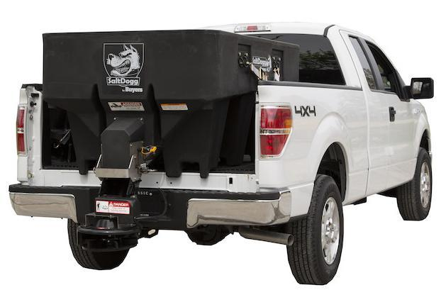 NEW SaltDogg 1.0 Cu. Yd  Poly Hopper Salt Spreader