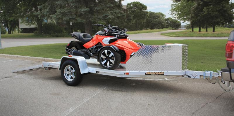 NEW 2019 Aluma 11' (1 Place) Trike Trailer w/ Pull Out Ramps
