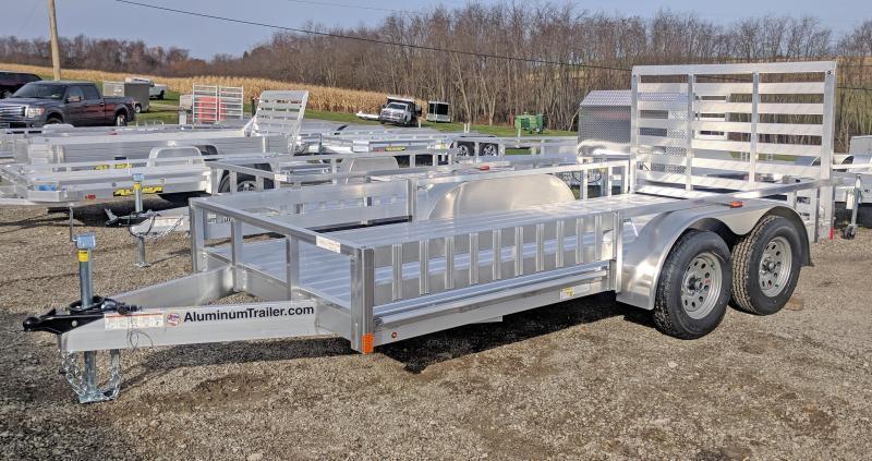 NEW 2019 ATC 7x14 Utility w/ Side Ramps & Removable Rear Gate