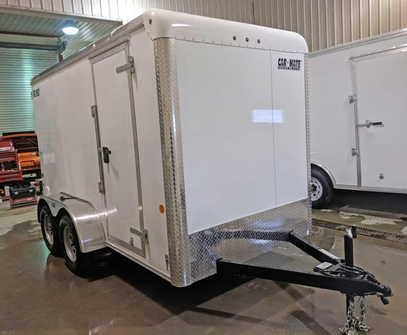 NEW 2018 Car Mate 6X12 HD Custom Cargo Trailer w/ Barn Doors (Add