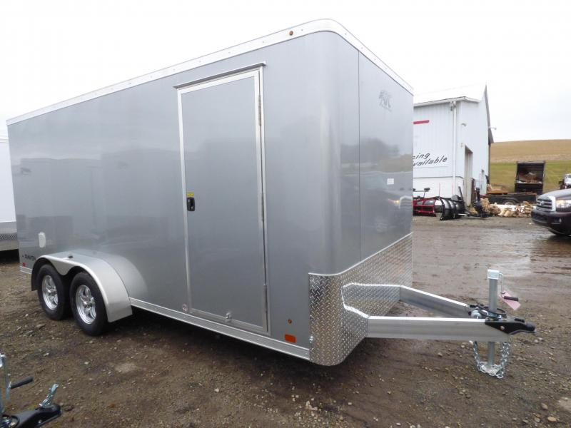 NEW 2018 ATC 7X16 Raven Aluminum Trailer w/Rear Ramp Door
