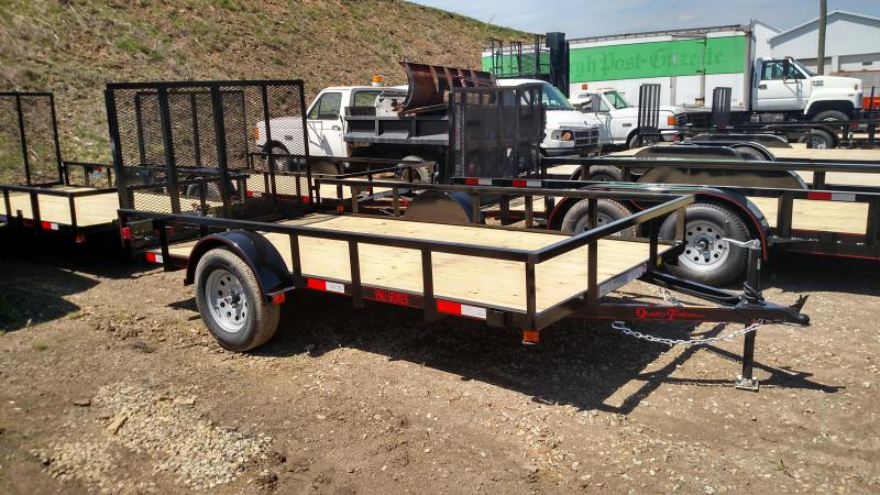NEW 2018 Quality 6X12 PRO Utility Trailer w/Mesh Sides & Spring Assist/ Lay Flat Gate