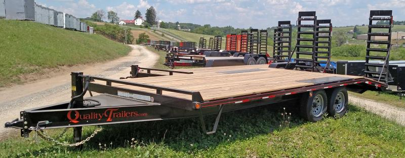 NEW 2019 Quality 19+4 HD PRO Deckover Tagalong w/ Pop Up Dove Tail