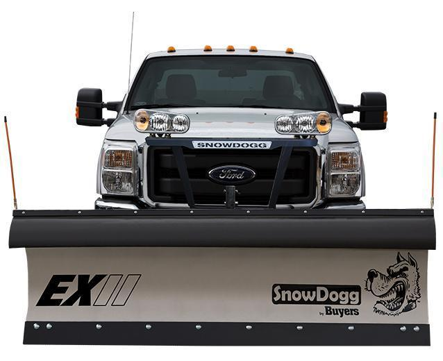 (1 LEFT @ PRE-SEASON PRICING!!!) CALL FOR SPECIAL PRICING!!! NEW SnowDogg 7.5' II Extreme Duty Stainless Steel Snow Plow