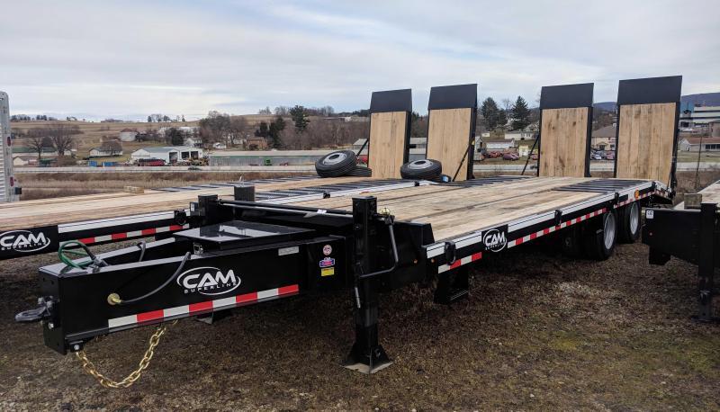 NEW 2018 CAM 22+5 HD Deckover Tagalong w/ Air Brakes & Air Ramps