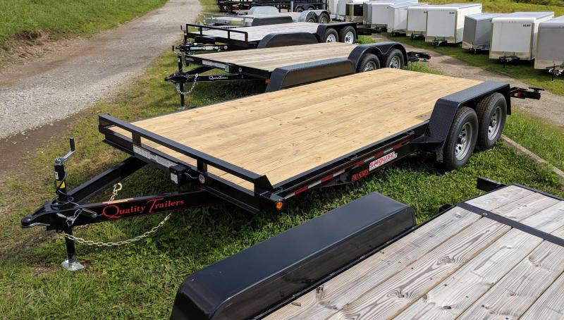 NEW 2019 Quality 18' HD PRO Car Hauler