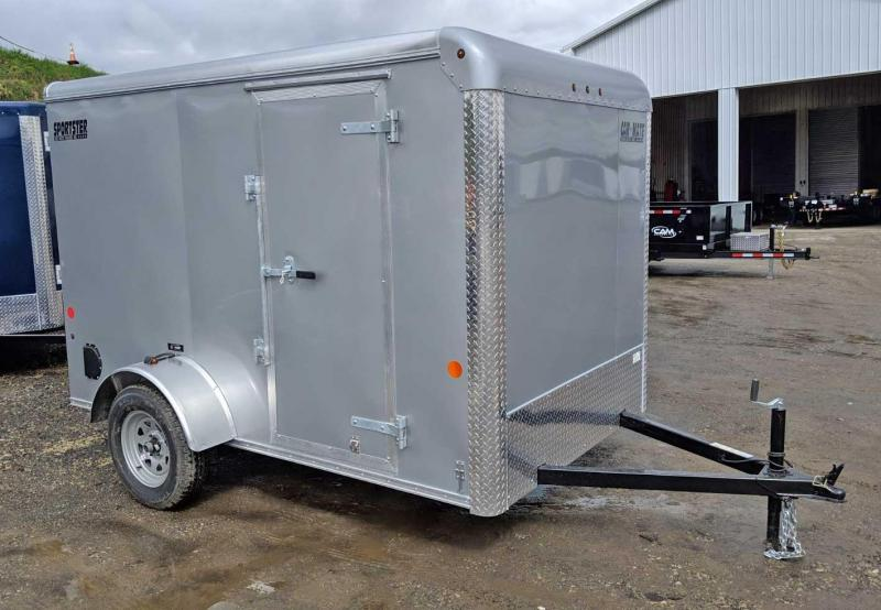 NEW 2019 Car Mate 6x10 Cargo Sportster w/ Rear Ramp Door