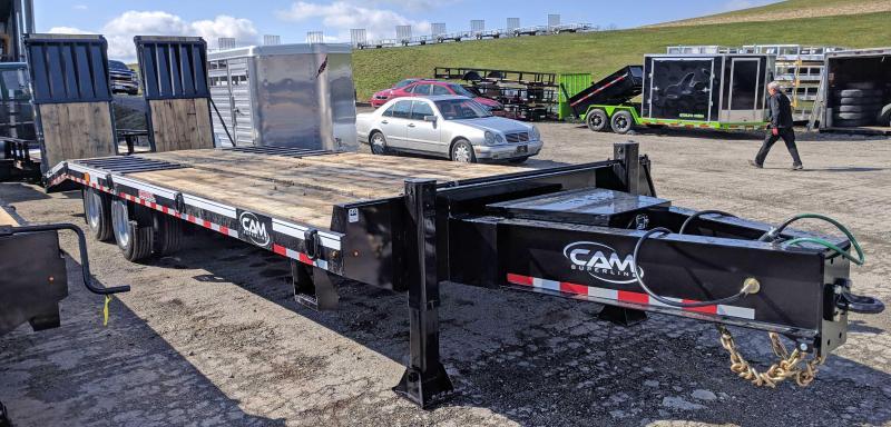NEW 2019 CAM 22+5 HD Deckover Tagalong w/ Air Brakes & Air Ramps