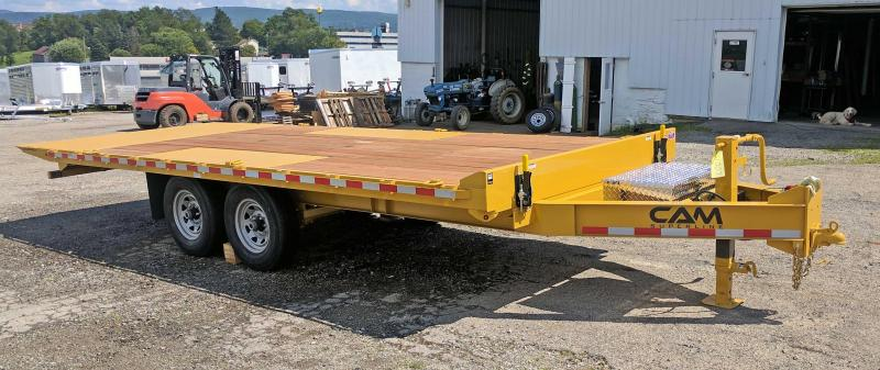 NEW 2018 Cam Superline 20' Deckover Full Tilt Trailer