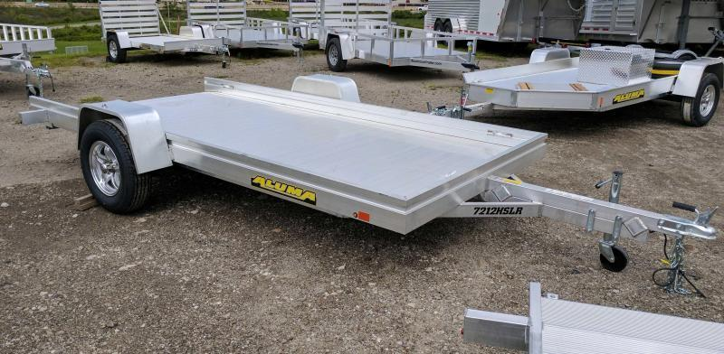NEW 2018 ALUMA 6X12 Aluminum Utility w/ Slide-out Ramp