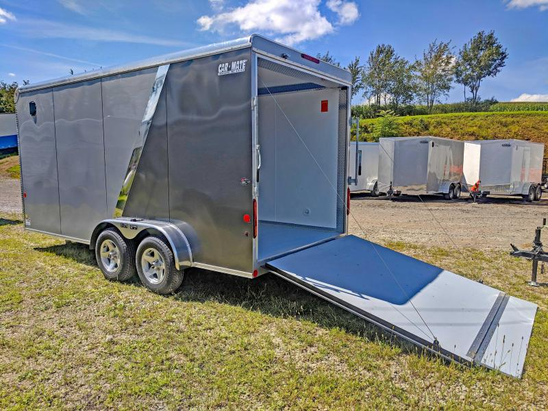 "NEW 2019 Car Mate 7X16 HD Custom Cargo Trailer w/ Ramp & 12"" Additional Height"