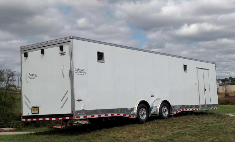 USED 2015 8.5' x 34' Continental Cargo Trailer