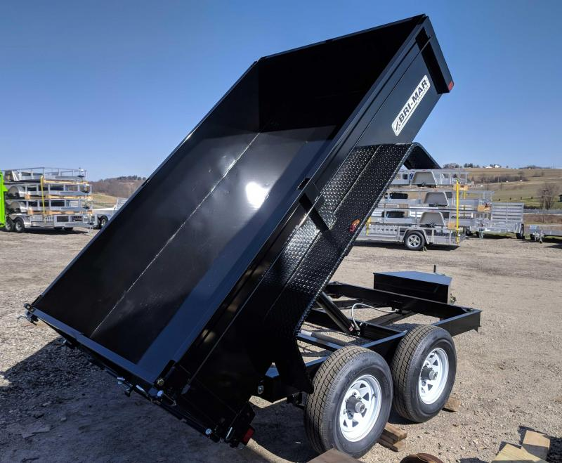 NEW 2019 Bri-Mar 6x10 Lo Pro Dump Trailer
