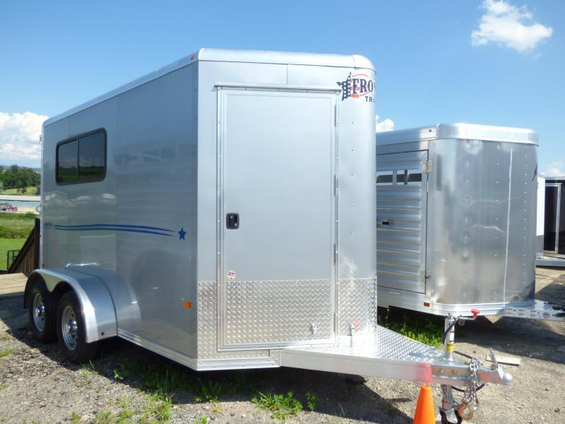 NEW 2017 Frontier (2) STARLITE Straight Load Horse Trailer
