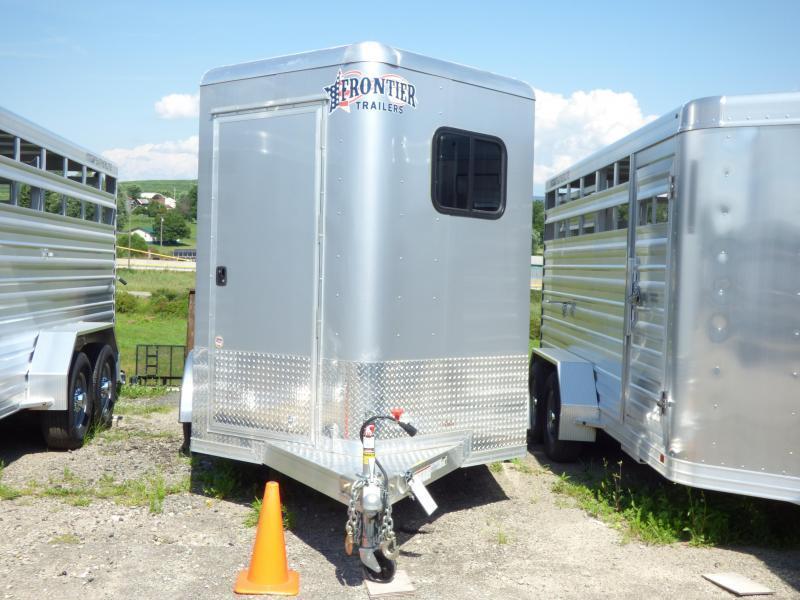 NEW 2017 Frontier (2) STARLITE Straight Load Horse Trailer