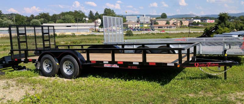 NEW 2019 Quality 7x18 HD PRO Utility Trailer w/Spring Assist Gate (NO DOVE)