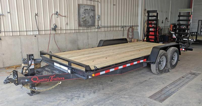 NEW 2019 Quality 20' HD Pro Equipment Trailer w/ Spring Assist Ramps