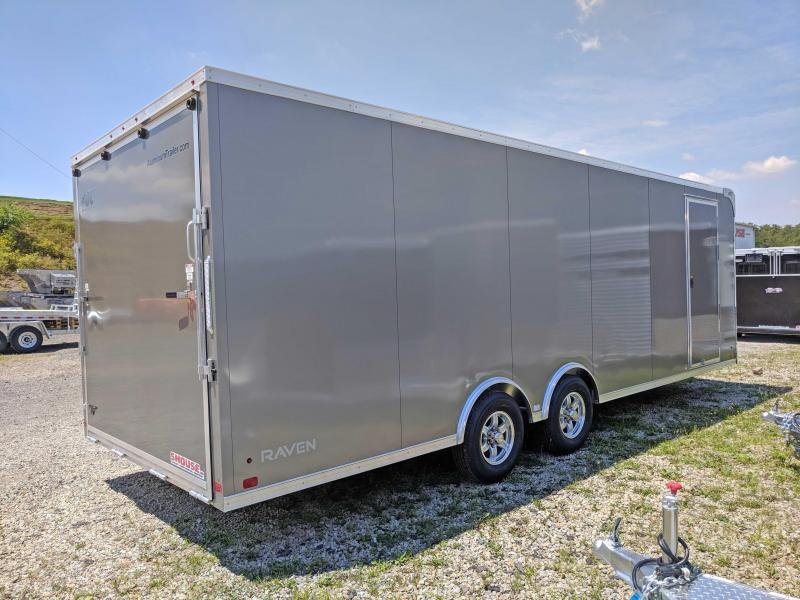NEW 2019 ATC 8.5 x 24 HD Raven Car Hauler w/ Ramp Door