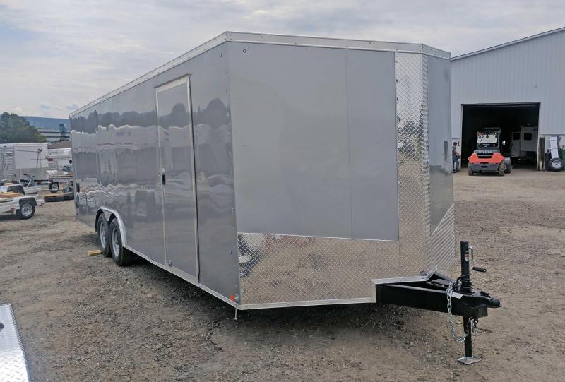 "NEW 2018 Cargo Express 8.5'x22 XLW Sloped V-Nose Car Hauler w/ Ramp & 12"" Additional Height"