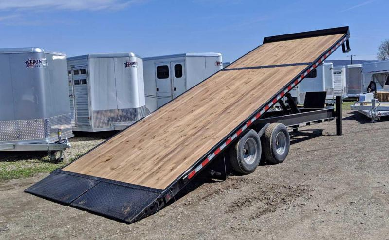 NEW 2019 BWise 24' HD Deckover Power Full Tilt Trailer