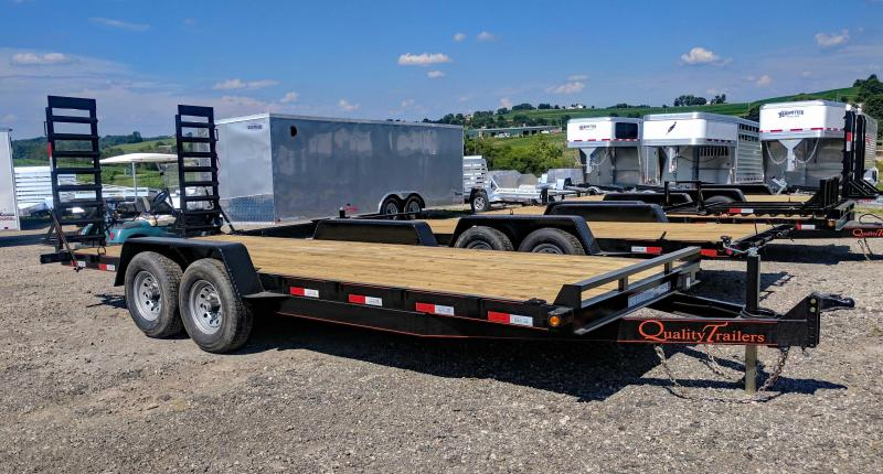 NEW 2018 Quality 18' HD General Duty Equipment Trailer (NO DOVE)