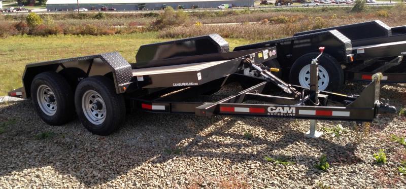 NEW 2018 Cam 6X12 Tandem Axle Tilt