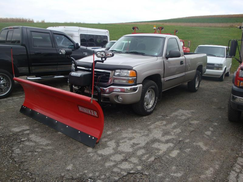 NEW Hiniker 8' HD Full Trip Conventional Steel Snow Plow