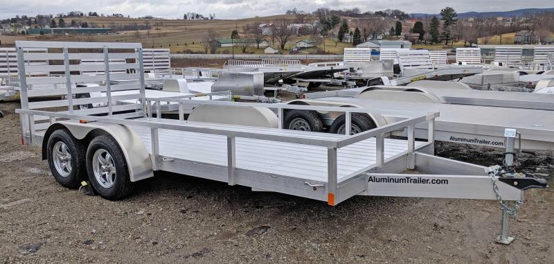 NEW 2018 ATC 7x16 Aluminum Utility Trailer