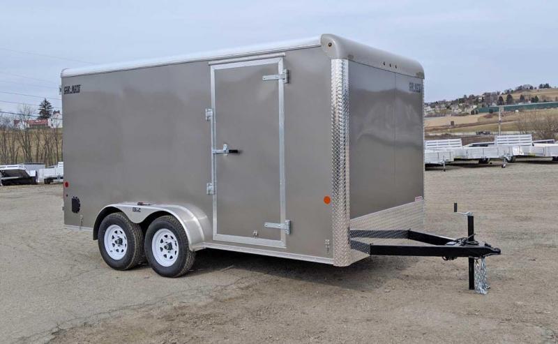 "NEW 2019 Car Mate 7x14 HD Custom Cargo Trailer w/ Barn Doors (6"" Add'l Height)"
