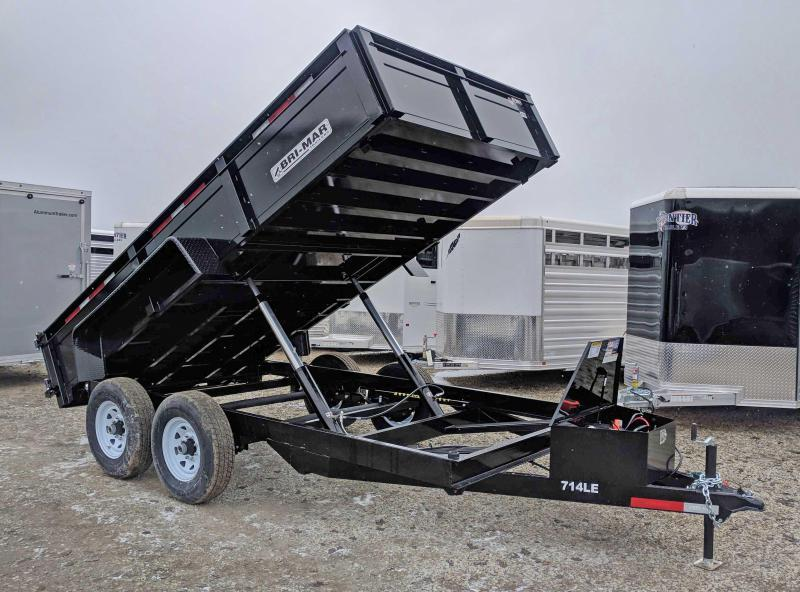 "NEW 2019 Bri-Mar 6'9""X 14' HD Lo Pro Equipment Dump"