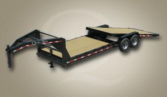 NEW 2017 Quality 6+14 Pro Lo Pro Gooseneck Tilt Equipment Hauler